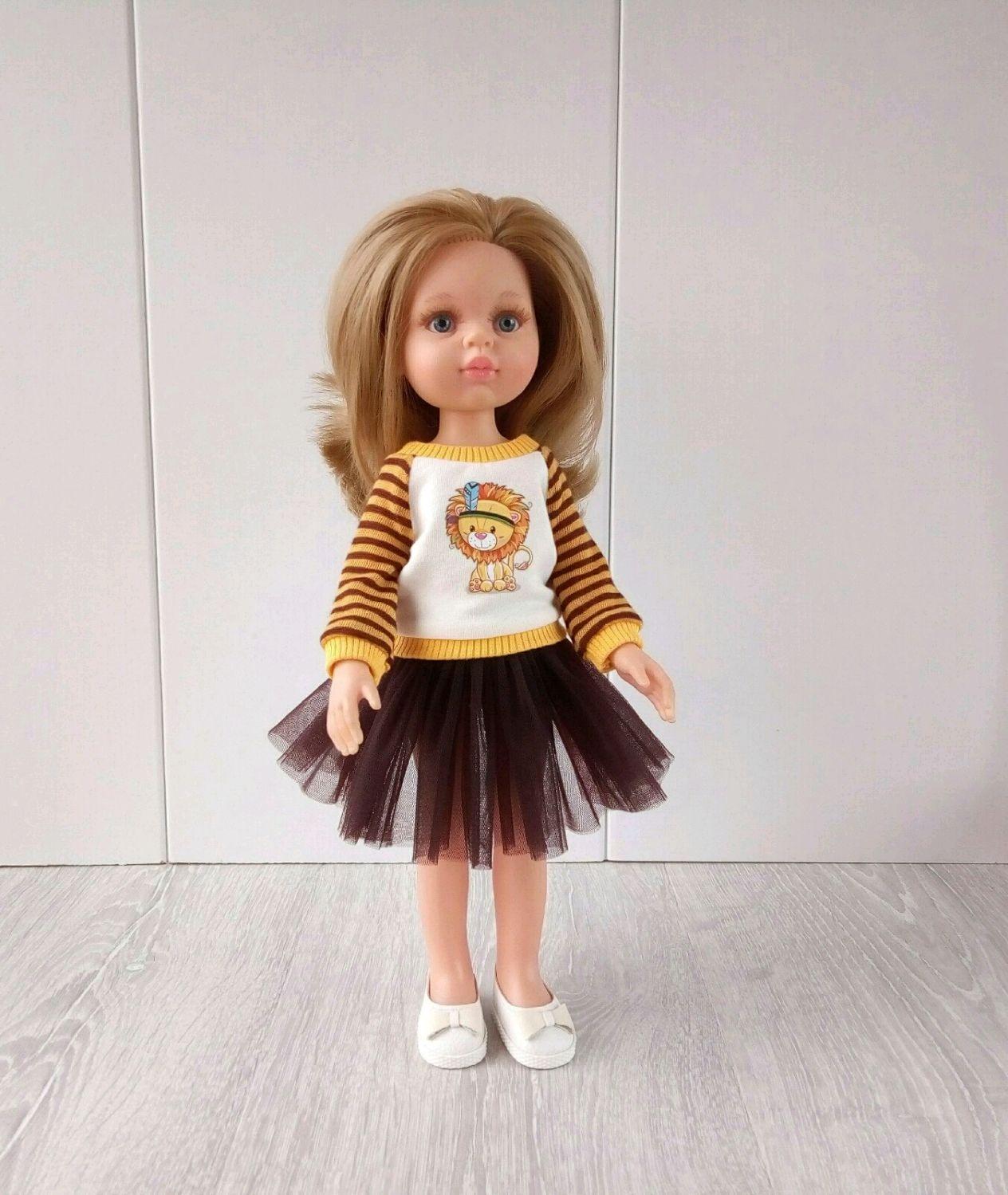 Комплект одежды №2 Свитшот+юбка, Одежда для кукол, Архангельск,  Фото №1