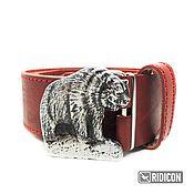Аксессуары handmade. Livemaster - original item Belt buckle Misha. Handmade.