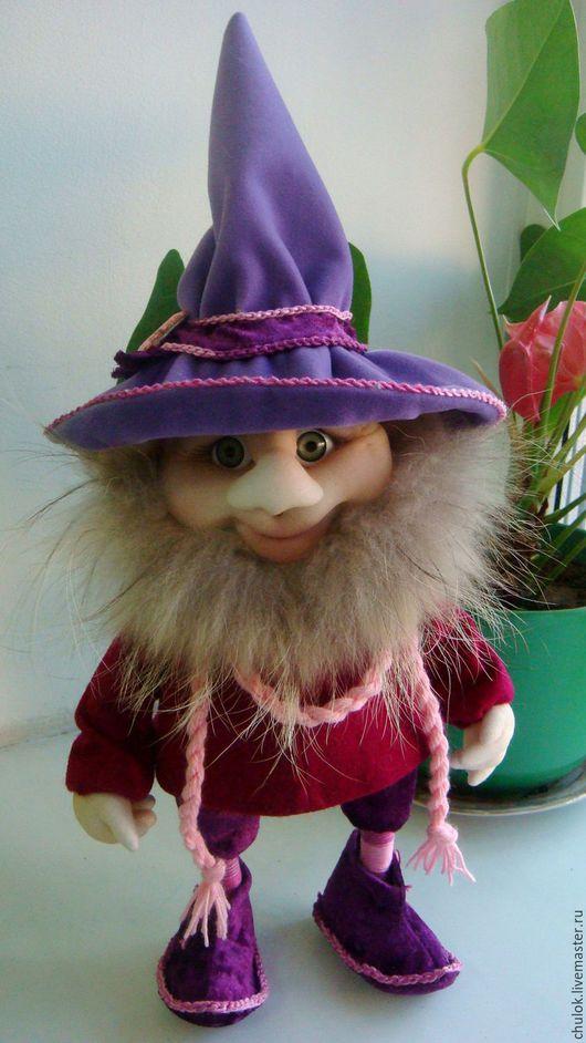 Экстерьер и дача ручной работы. Ярмарка Мастеров - ручная работа. Купить Интерьерная кукла - Гномик. Handmade. Гномик, интерьерная игрушка
