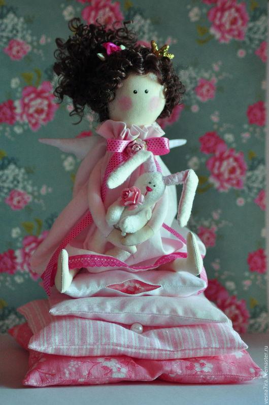 """Куклы и игрушки ручной работы. Ярмарка Мастеров - ручная работа. Купить Набор для шитья куклы  :""""Принцесска на горошине"""". Handmade. Разноцветный"""
