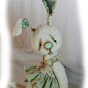 Куклы и игрушки ручной работы. Ярмарка Мастеров - ручная работа зайка Триша. Handmade.