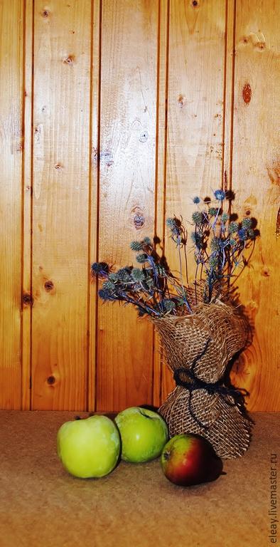 Вазы ручной работы. Ярмарка Мастеров - ручная работа. Купить Вазочка с сухоцветами. Handmade. Коричневый, ваза для сухоцветов, ярмарка мастеров