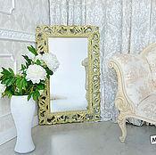 Для дома и интерьера ручной работы. Ярмарка Мастеров - ручная работа Зеркало в раме настенное. Handmade.