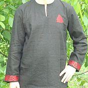 "Субкультуры handmade. Livemaster - original item Рубаха вышитая ""Трувор"". Handmade."