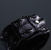 handmade. Livemaster - original item Bracelet in crocodile skin IMA0330B3. Handmade.
