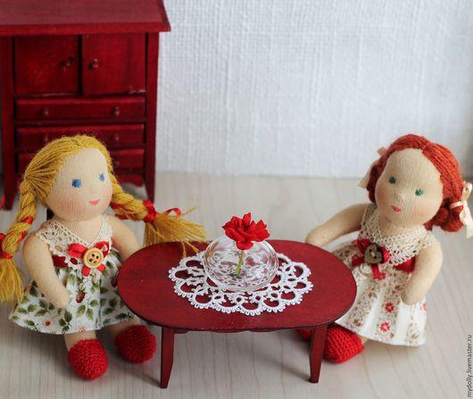 Вальдорфская игрушка ручной работы. Ярмарка Мастеров - ручная работа. Купить Крошки с ладошку (вальдорфские куклы 10, 5 см). Handmade.