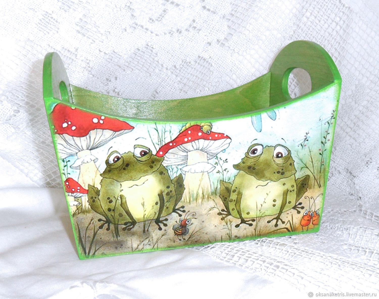 Box for storage of the Princess Frog, Storage Box, Novosibirsk,  Фото №1