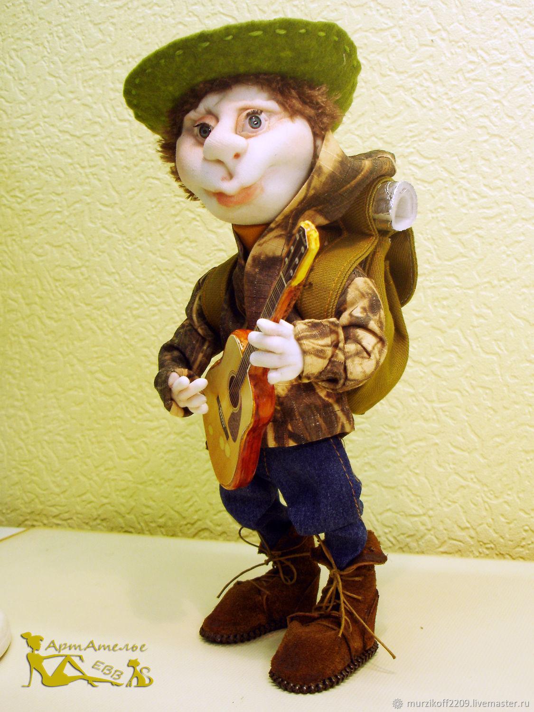 Турист .Текстильная кукла, Куклы и пупсы, Архангельск,  Фото №1