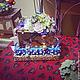"""Персональные подарки ручной работы. Ярмарка Мастеров - ручная работа. Купить Подарочная упаковка """"Волшебный сад"""". Handmade. Разноцветный"""