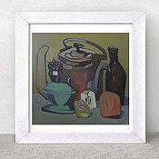 Картины и панно ручной работы. Ярмарка Мастеров - ручная работа натюрморт с живыми вещами. Handmade.