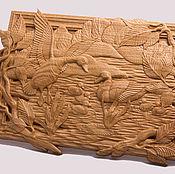 Картины и панно handmade. Livemaster - original item Wooden panel
