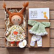Куклы и пупсы ручной работы. Ярмарка Мастеров - ручная работа Девулька-крохотулька. Handmade.