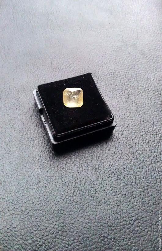 Комплекты украшений ручной работы. Ярмарка Мастеров - ручная работа. Купить Желтый сапфир - 2,85 карата сертифицированный. Handmade.