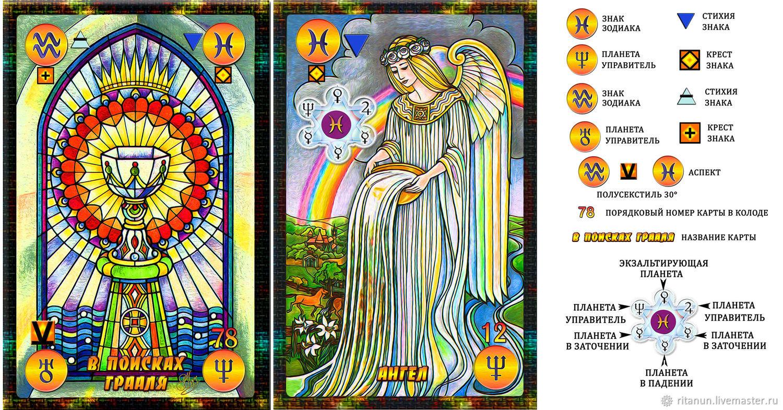 Symbolon Astrologia Mysterium taro, Карты Таро, Москва,  Фото №1