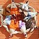 Новый год 2017 ручной работы. Ярмарка Мастеров - ручная работа. Купить петухи неделька). Handmade. Разноцветный, кухонный интерьер