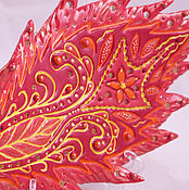 Для дома и интерьера handmade. Livemaster - original item The feather of the Firebird - collectible figurine. Handmade.