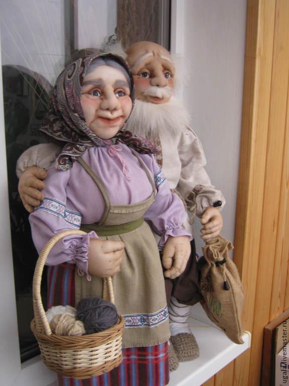 Grandma next to grandpa, Dolls, Ryazan,  Фото №1