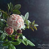 Цветы и флористика handmade. Livemaster - original item Her Majesty-rose Chippendale polymer clay.. Handmade.