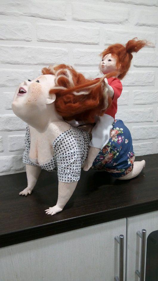 Коллекционные куклы ручной работы. Ярмарка Мастеров - ручная работа. Купить Интерьерная кукла (по работе АняМаня). Handmade. пара