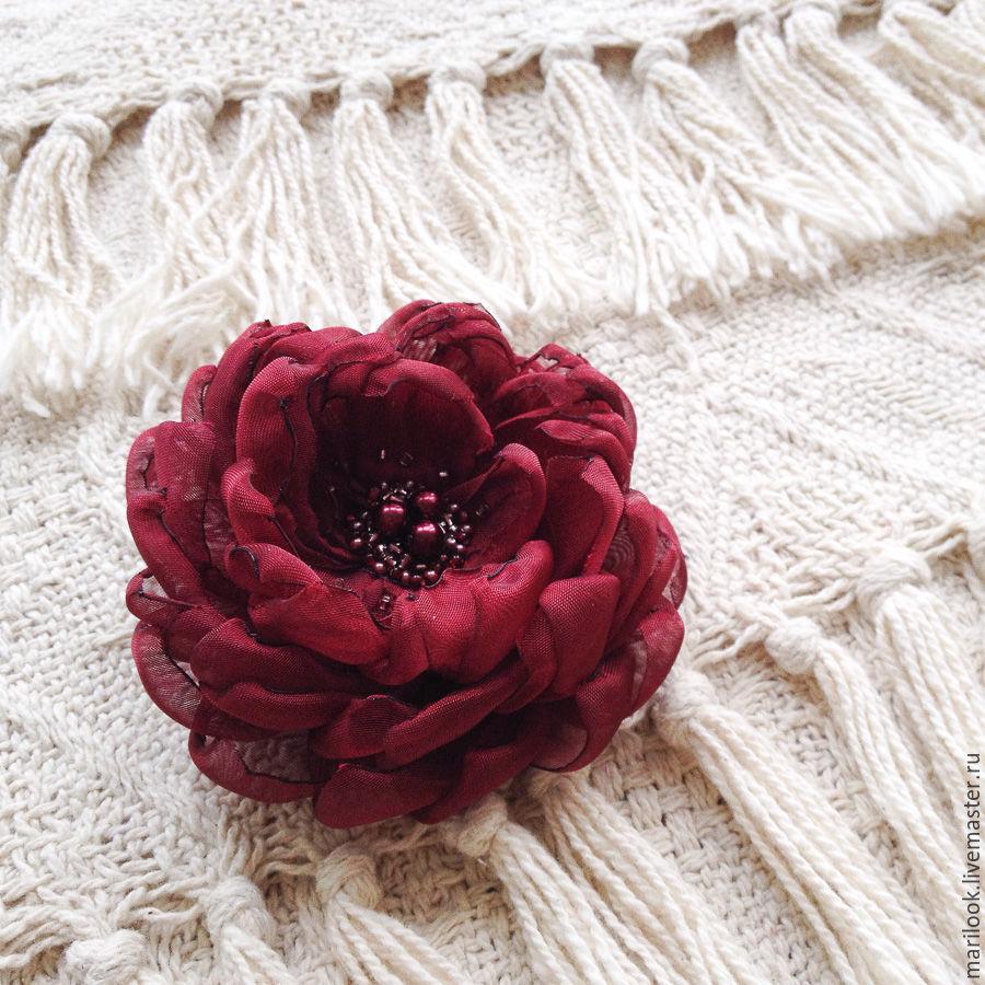 Цветы из ткани купить екатеринбург цветы в луховицах купить