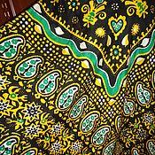 Винтаж ручной работы. Ярмарка Мастеров - ручная работа Платок-келагаи из натурального шелка. Handmade.