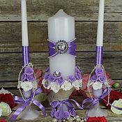 Свадебный салон handmade. Livemaster - original item Candle wedding. Handmade.