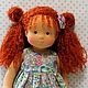 Вальдорфская игрушка ручной работы. Ярмарка Мастеров - ручная работа. Купить Маленькая Принцесса, 38 см. Handmade. Рыжий