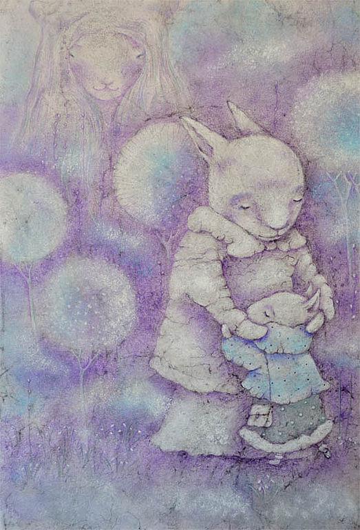 Картина мама и малыш