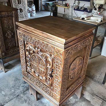 Картины и панно ручной работы. Ярмарка Мастеров - ручная работа Панихидный стол. Handmade.