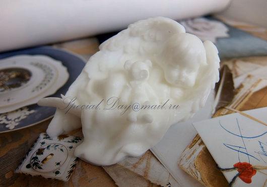 """Мыло ручной работы. Ярмарка Мастеров - ручная работа. Купить Мыло """"Сон с Ангелом"""". Handmade. Белый, мыло ручной работы"""