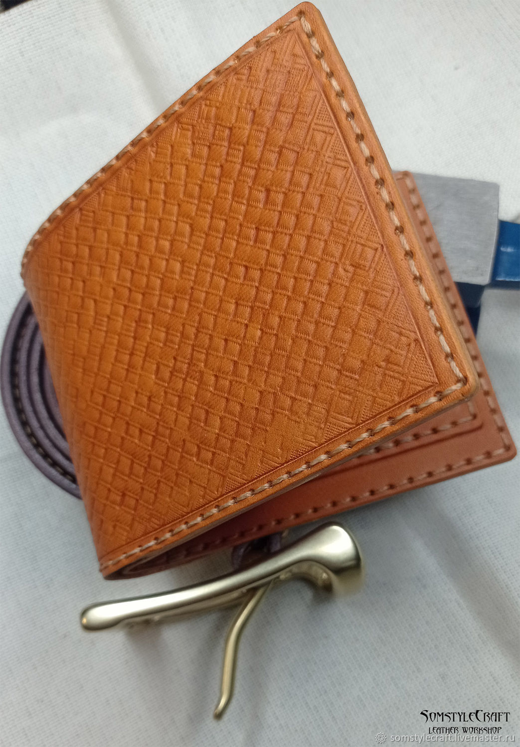 The wallet is embossed with the 'basket', Wallets, Moscow,  Фото №1
