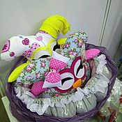 Куклы и игрушки ручной работы. Ярмарка Мастеров - ручная работа Совушки. Handmade.