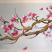 Картины и панно ручной работы. Ярмарка Мастеров - ручная работа Сакура в цвету. Handmade.