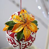 Сувениры и подарки handmade. Livemaster - original item Eggs: Easter egg, porcelain egg, Easter decor, flowers, Easter. Handmade.