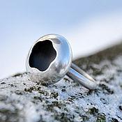 Кольца ручной работы. Ярмарка Мастеров - ручная работа Кольцо Лунное затмение (серебро 925). Handmade.