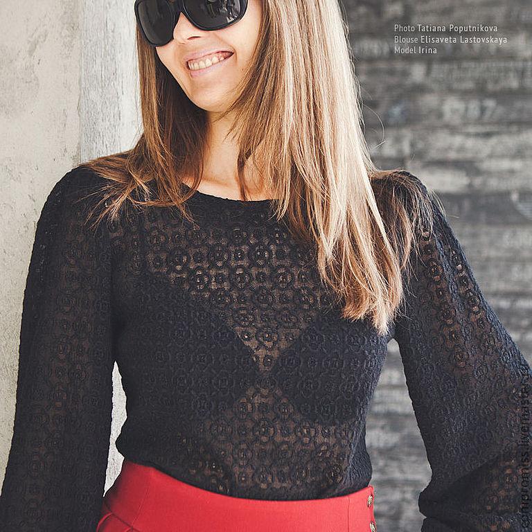 Женские кружевные блузки купить