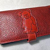 Сумки и аксессуары handmade. Livemaster - original item Purse with bear.. Handmade.