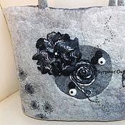 Сумки и аксессуары handmade. Livemaster - original item Bag felted explanation