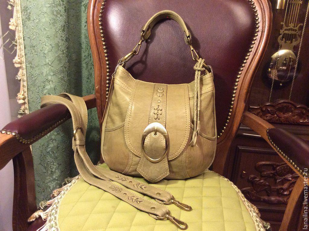 Ручные сумки из кожи