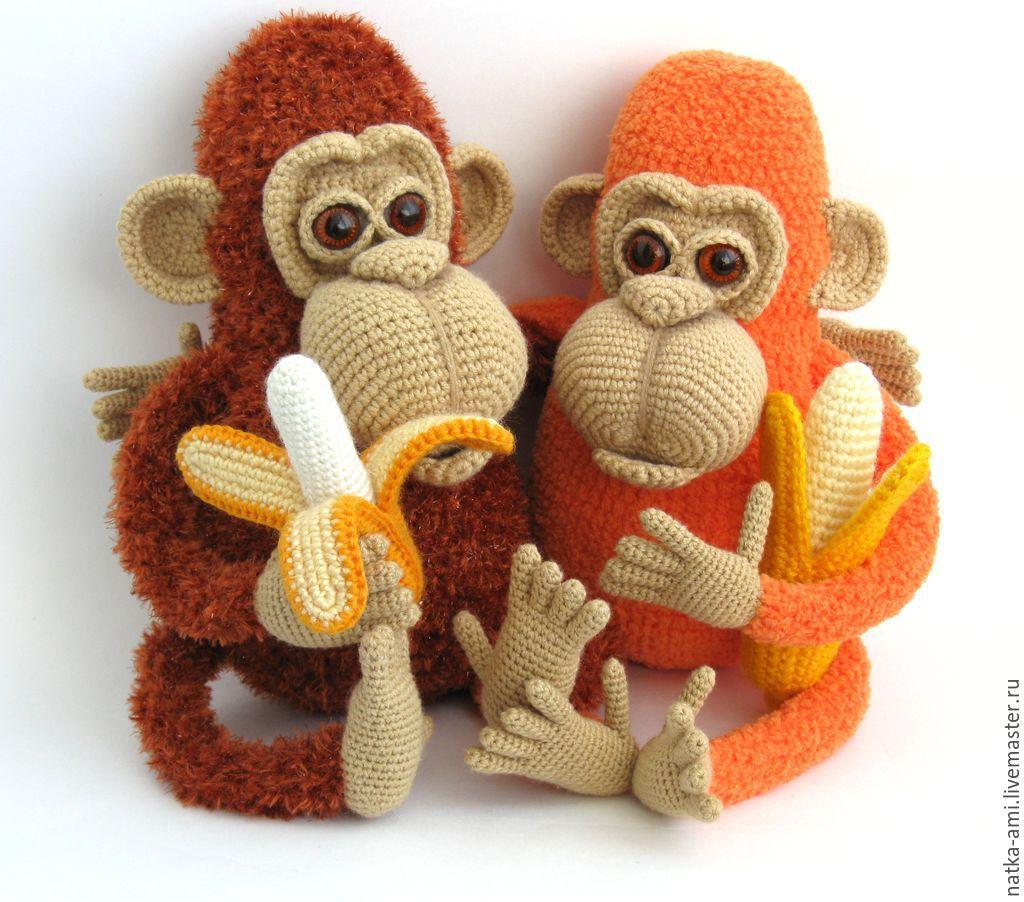 Вязанная обезьянка картинки