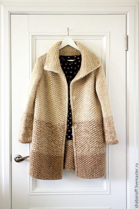"""Верхняя одежда ручной работы. Ярмарка Мастеров - ручная работа. Купить пальто """"The warm of summer"""". Handmade. Бежевый"""