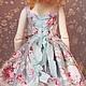 Одежда для кукол ручной работы. Наряд на куклу БЖД (  MCD) 42-45 см №38. Ольга Фоменко 'Кукольный гардероб'. Ярмарка Мастеров.
