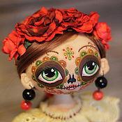 Куклы и игрушки ручной работы. Ярмарка Мастеров - ручная работа Интерьерная  текстильная кукла Муэрта.. Handmade.