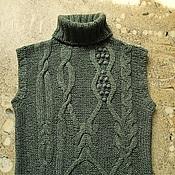 Одежда ручной работы. Ярмарка Мастеров - ручная работа Свитер- безрукавка. Handmade.