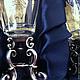 Набор на троих `Дятьковское барокко`.  Три рюмочки на серебряных ножках уложены на ложемент из темно-синего шелка в подарочную коробку. Подарок на свадьбу, её годовщины, юбилеи, новоселье, другое тор