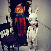 С праздником Пасхи! Кролль Художественная шарнирная кукла