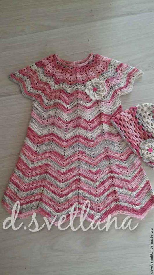 Одежда для девочек, ручной работы. Ярмарка Мастеров - ручная работа. Купить Платье для девочки. Handmade. Комбинированный, платье, для девочки