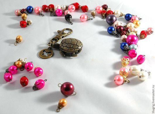 """Часы ручной работы. Ярмарка Мастеров - ручная работа. Купить Часы-брелок """"Черепаха"""". Handmade. Часы, брелок, черепашка"""