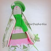 Куклы и игрушки ручной работы. Ярмарка Мастеров - ручная работа Зайка с собачками. Handmade.