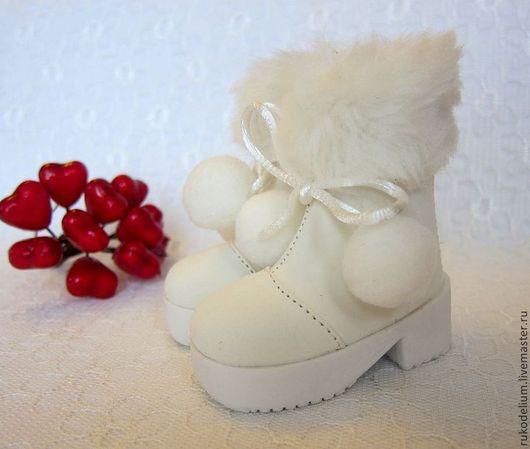 Куклы и игрушки ручной работы. Ярмарка Мастеров - ручная работа. Купить Обувь кукольная. Handmade. Белый, кукольная обувь